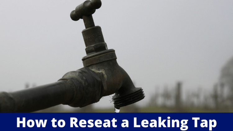 how to reseat a leaking tap