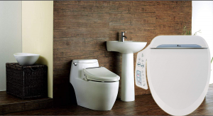Bio Bidet Ultimate bb 600 Advanced Bidet Toilet Seat Elongated White