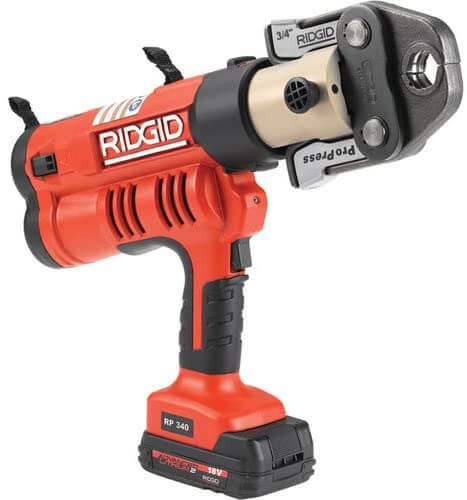 RIDGID RP 340-B Press 43348 Hydraulic Crimping Tool