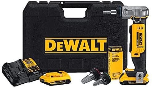 Dewalt dce400d2 20v max 1 pex expander tool kit