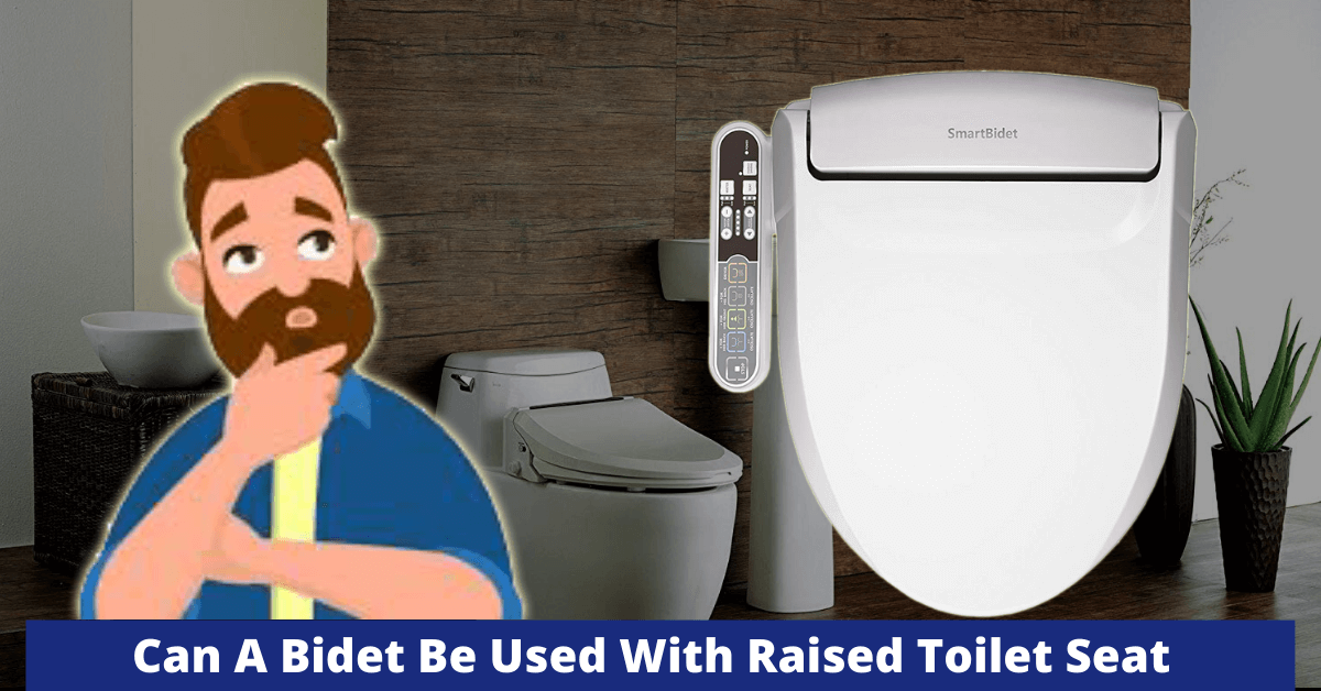 Can A Bidet Be Used With Raised Toilet Seat Best Toilet Bidet Seats