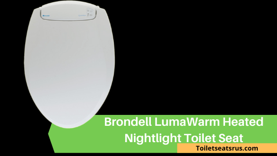 Brondell L60-RW LumaWarm Heated Nightlight Toilet