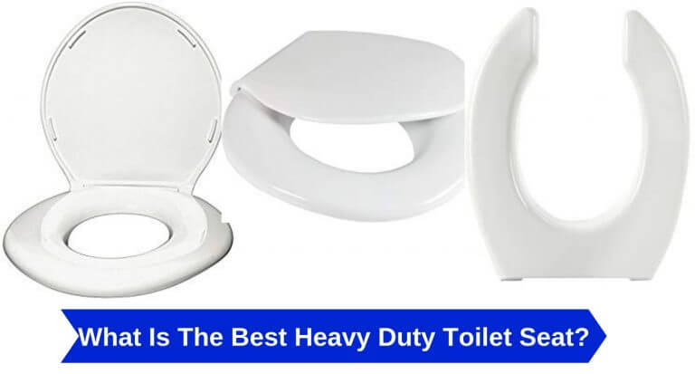 heavy duty toilet seat
