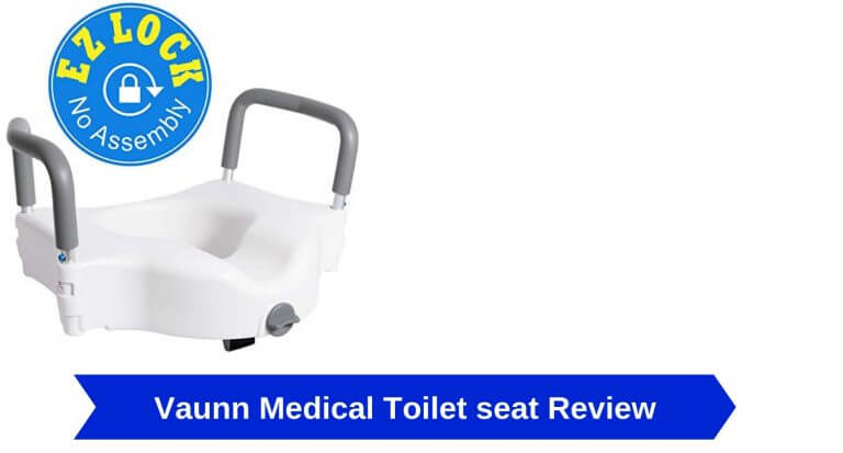vaunn medical elevated raised toilet seat