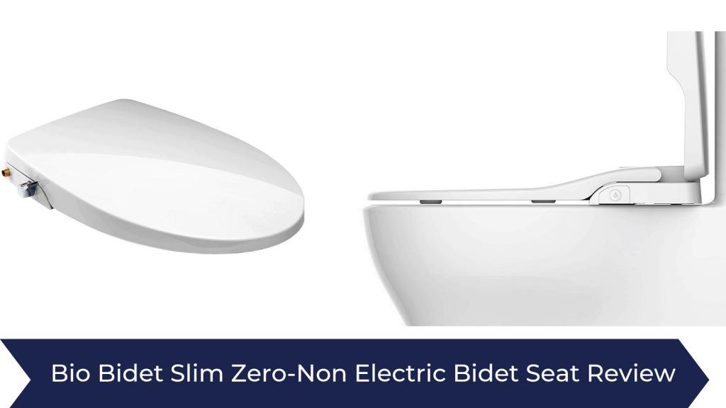 Bio Bidet Slim Zero-Non Electric Bidet Seat