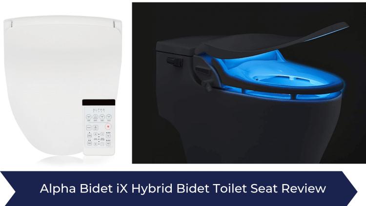 Alpha Bidet iX Hybrid Bidet Toilet Seat
