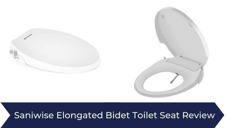 Saniwise Elongated Bidet Toilet Seat